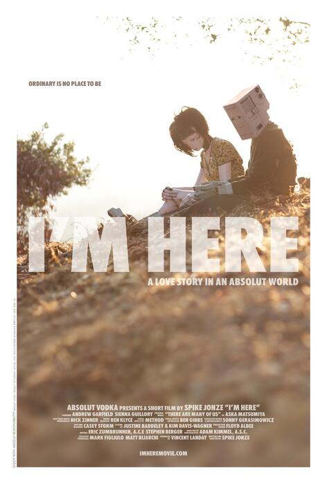 I'm Here - A Love Story in an Absolut World Poster