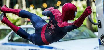 Bild zu:  Andrew Garfield als Spider-Man