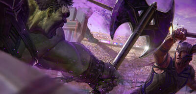 Hulk gegen Thos