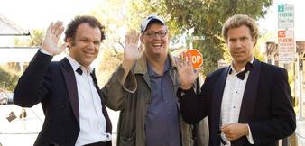(Stief)brüder im Geiste. John C. Reilly, Adam McKay und Will Ferrell (v.l.)