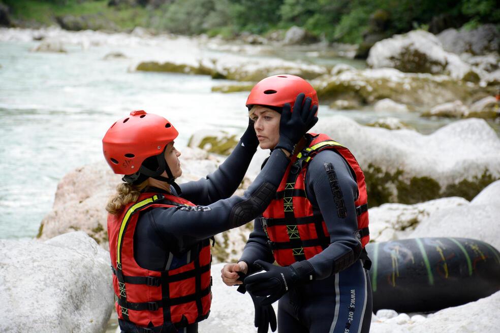 Team Alpin: Stromabwärts mit Gesine Cukrowski