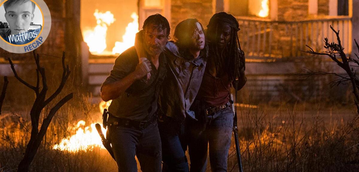 The Walking Dead Staffel 8 Winterpause