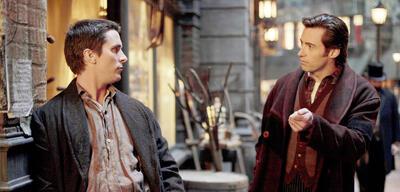 Prestige - Hugh Jackman erklärt Christian Bale seinen Trick