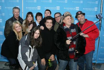 Die Crew von World's Greatest Dad auf dem Sundance Festival