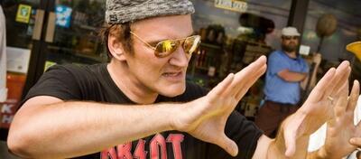 Quentin Tarantino am Set von Death Proof - Todsicher