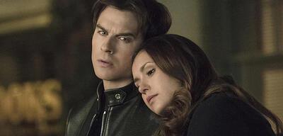 Vampire Diaries mit Nina Dobrev und Ian Somerhalder