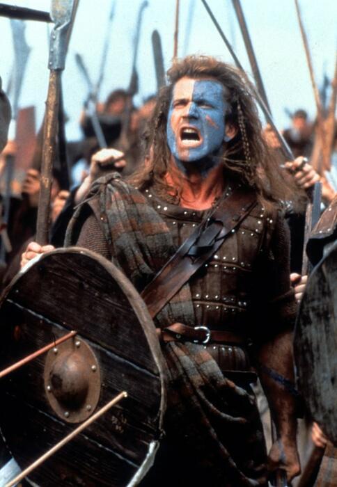Braveheart mit Mel Gibson
