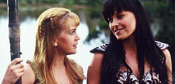 Laut Lucy Lawless ein Paar: Gabrielle und Xena