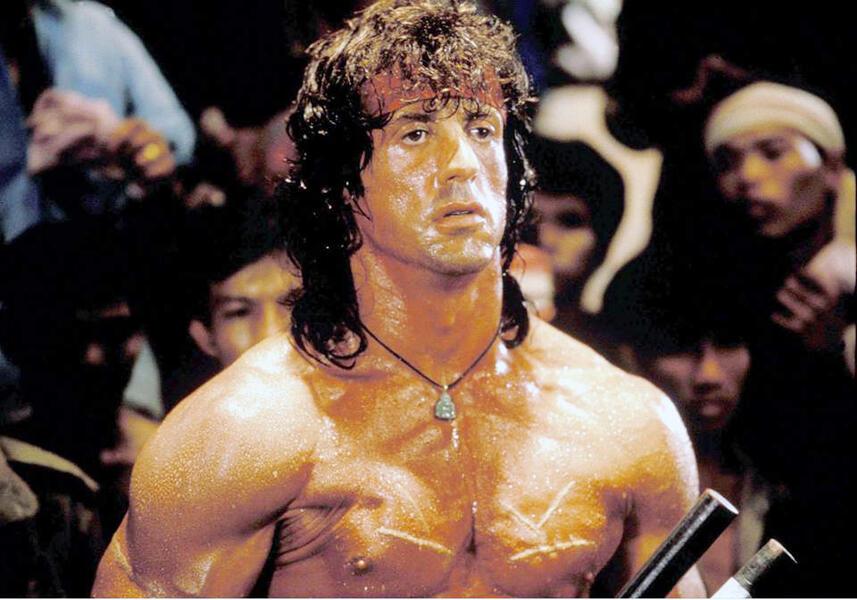 Rambo III mit Sylvester Stallone