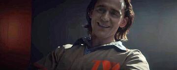 Loki in seinem ersten kurzen Auftritt im Marvelserien-Trailer