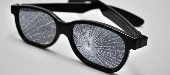 Walking on walking on broken glass...