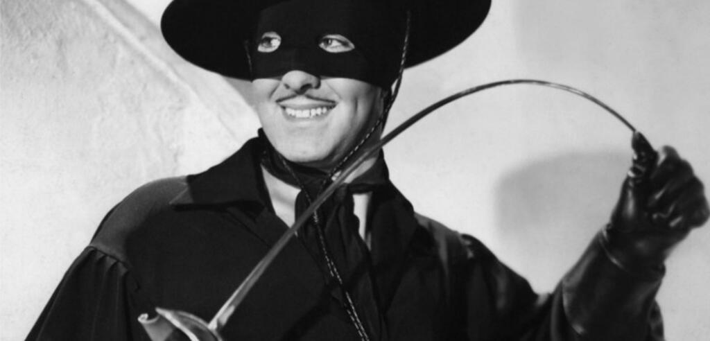 Zorro war auch mal schwarzweiß