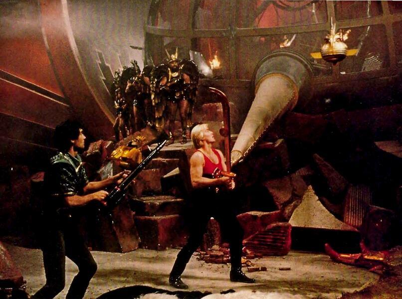Flash Gordon mit Sam J. Jones