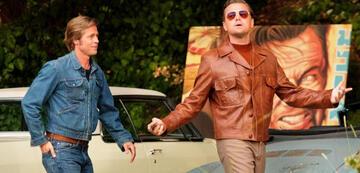 Brad Pitt und Leonardo DiCaprio vor dem Gewaltausbruch in Once Upon a Time ... in Hollywood