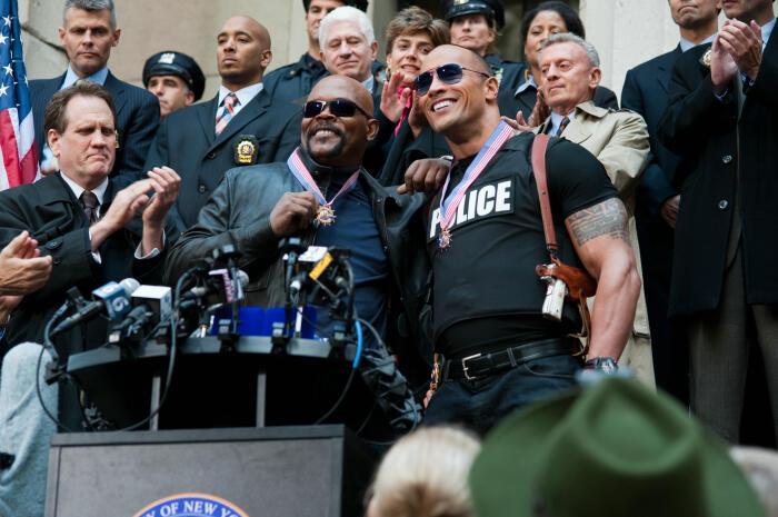 Die etwas anderen Cops mit Samuel L. Jackson und Dwayne Johnson