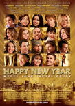 Happy new year poster klein