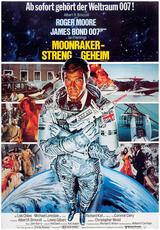 James Bond 007 - Moonraker - Streng geheim - Poster