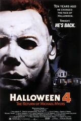 Halloween 4 - Michael Myers kehrt zurück - Poster