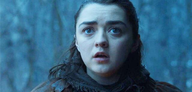 Game of Thrones: Arya ist geschockt über die Spoiler