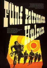 Fünf Patronenhülsen - Poster