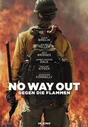 No Way Out - Gegen die Flammen Poster