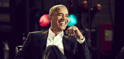 Barack Obama in David Lettermans Netflix-Talk