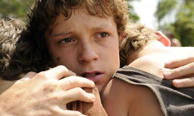 Tom Holland in The Impossible