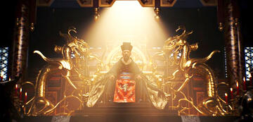 Mushu im Mulan-Remake: an der Seite des Kaisers