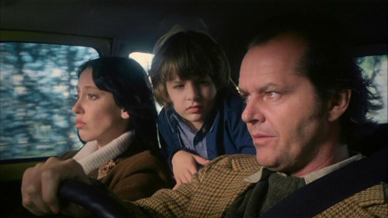 Shining mit Jack Nicholson, Shelley Duvall und Danny Lloyd