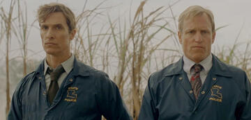 Matthew McConaughey und Woody Harrelson in True Detective