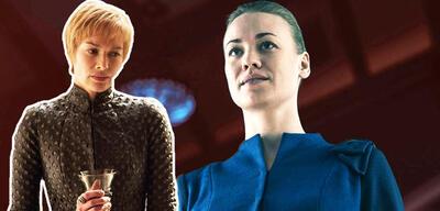 Lena Headey in Game of Thrones und Yvonne Strahovski in The Handmaid's Tale