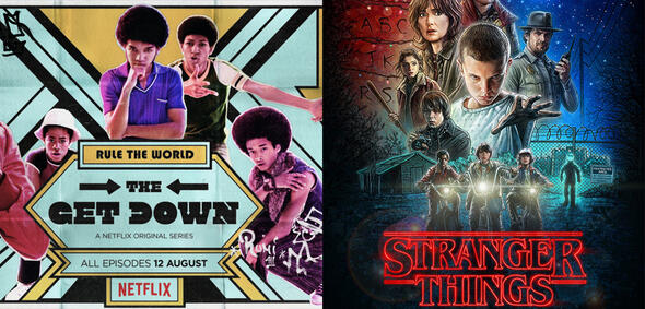 The Get Down/Stranger Things
