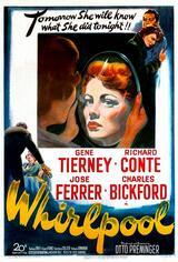 Frau am Abgrund - Poster