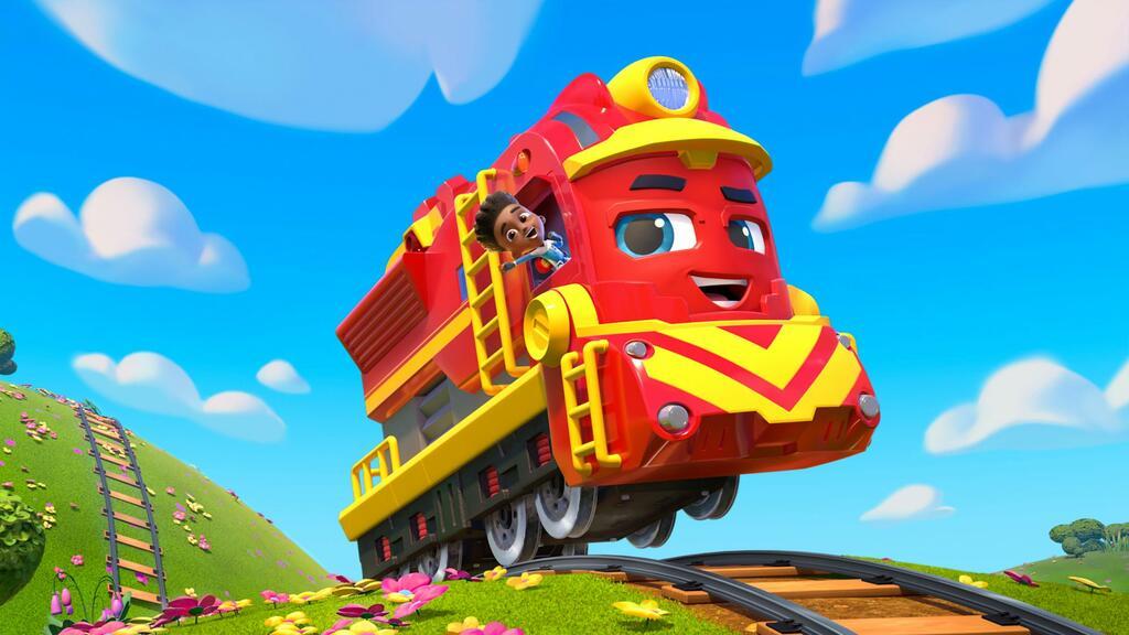 Mighty Express - Superschnelle Zugfreunde