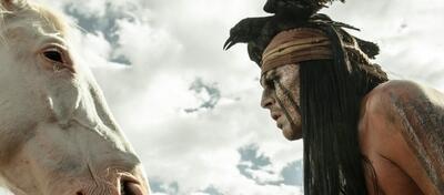 Johnny Depp (rechts)