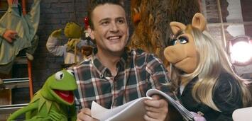 Bild zu:  Ob die Muppets und Jason Segel nochmal zusammenarbeiten werden?