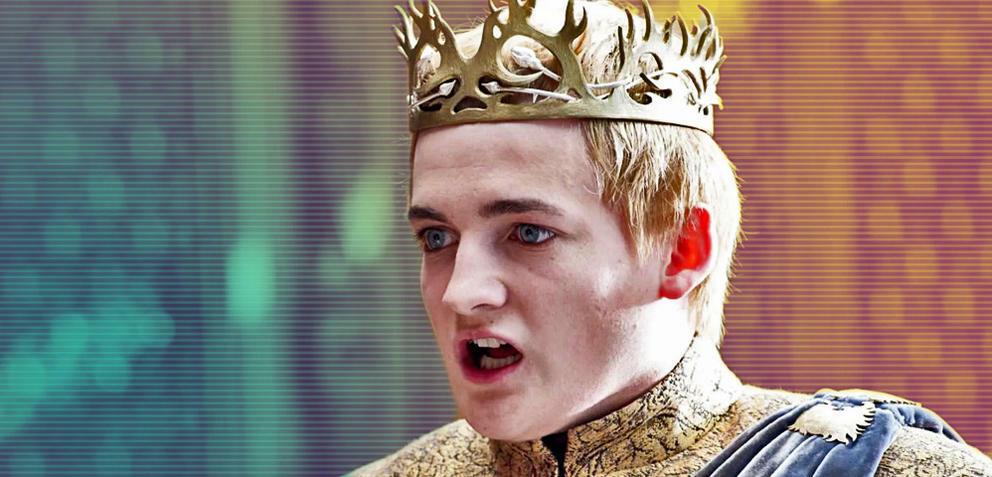 Game of Thrones mit Jack Gleeson als Joffrey