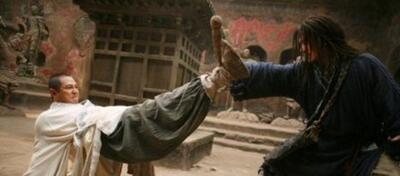 Jet Li & Jackie Chan in The Forbidden Kingdom