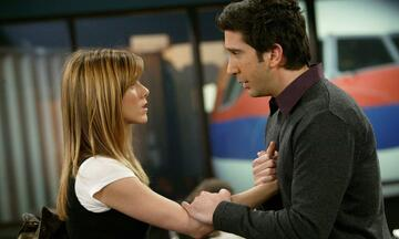 Rachel und Ross in Friends