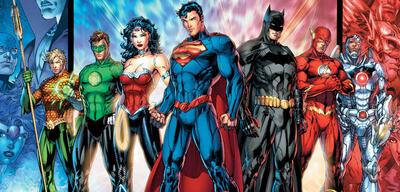 Die Justice League in ihrer aktuellen Comic-Version