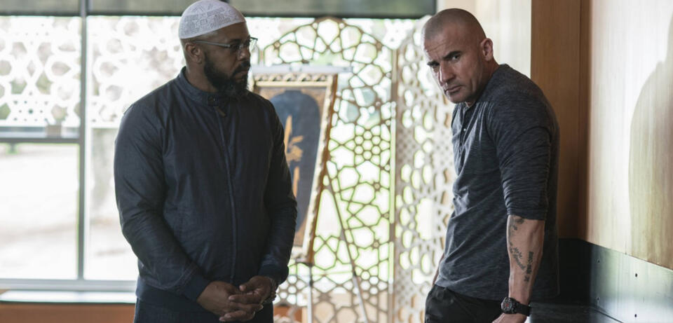 Prison Break mit Rockmond Dunbar und Dominic Purcell
