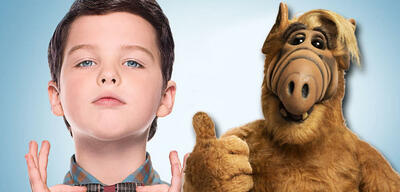 Young Sheldon und Alf