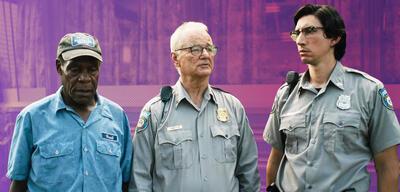 Danny Glover, Bill Murray und Adam Driver in The Dead Don't Die