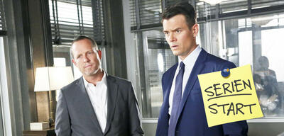 Dean Winters und Josh Duhamel in Battle Creek