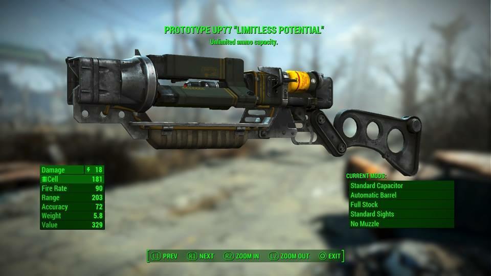 Fallout 4 — Diese Waffe müsst ihr nicht nachladen
