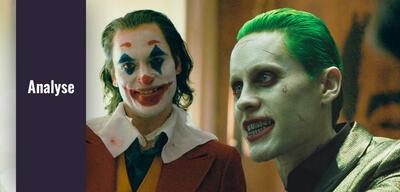 Joaquin Phoenix und Jared Leto als Joker
