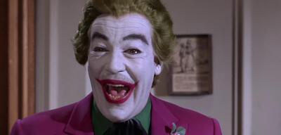 Auch der Joker ist ganz hingerissen von der Batman-Blu-ray