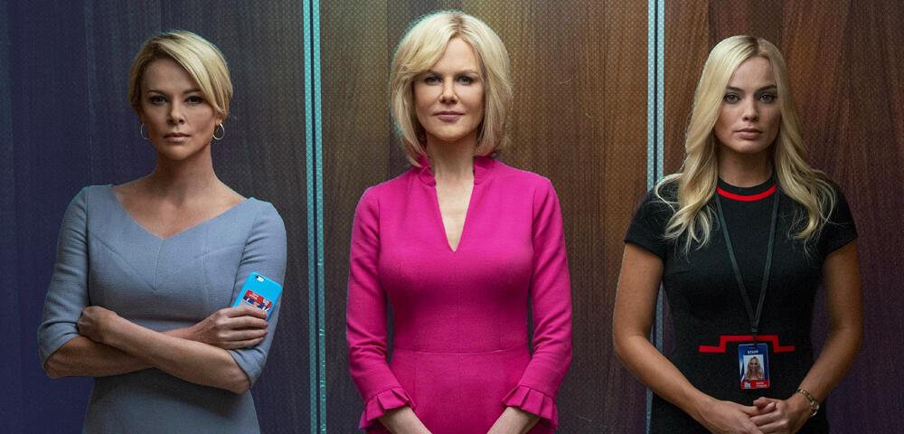 Bombshell-Trailer schickt Charlize Theron & Margot Robbie direkt ins Oscar-Rennen