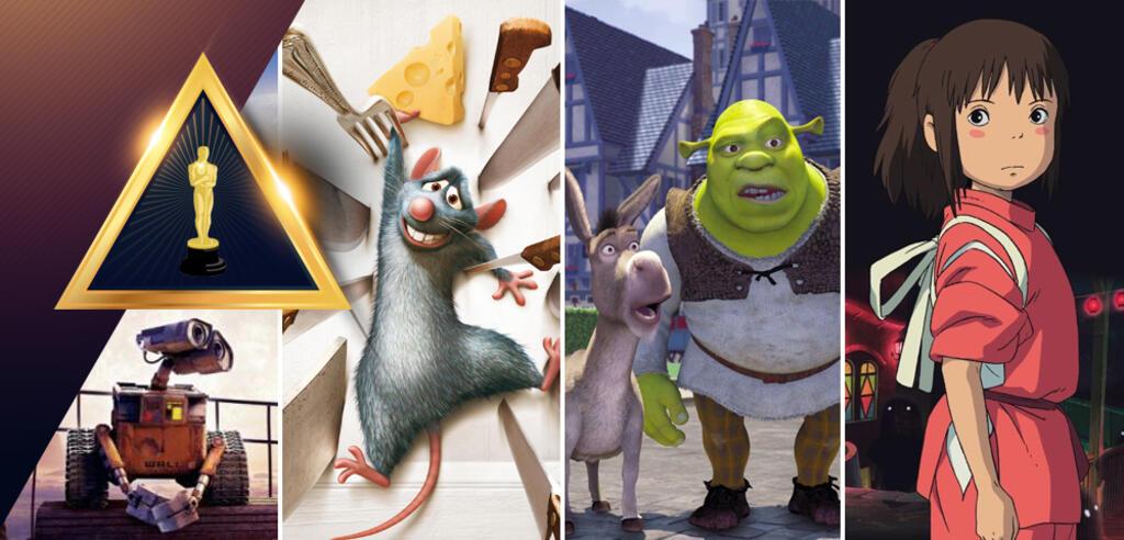 Vergangene Animationsfilm-Oscargewinner im Ranking