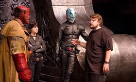 Hellboy II - Die goldene Armee mit Guillermo del Toro und Selma Blair - Bild 12